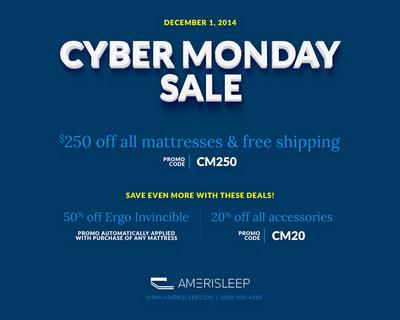 photo httpphotosprnewswirecomprnh20141201161475 info the amerisleep cyber monday mattress - Cyber Monday Mattress Deals