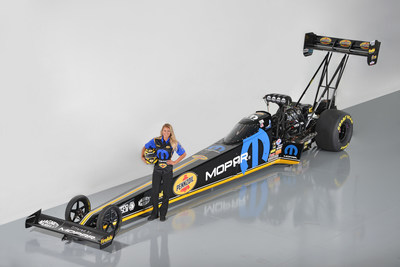 Leah Pritchett will debut her new Mopar/Pennzoil NHRA Top Fuel Dragster at the 37th Annual Mopar Mile-High NHRA Nationals, scheduled for July 22-24 at Bandimere Speedway near Denver. Mopar will serve as her primary sponsor for select 2016 events, including the NHRA Denver, Sonoma and Reading stops.