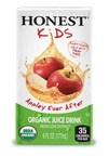Chick-fil-A adds first organic offering to menu: Honest Kids' Appley Ever After Juice Drink, which has half the sugar of the leading kid's juice drink.