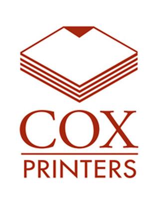 Cox Printers logo.  (PRNewsFoto/SolarCure)