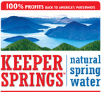 KeeperSprings.com.  (PRNewsFoto/Keeper Springs Natural Spring Water)