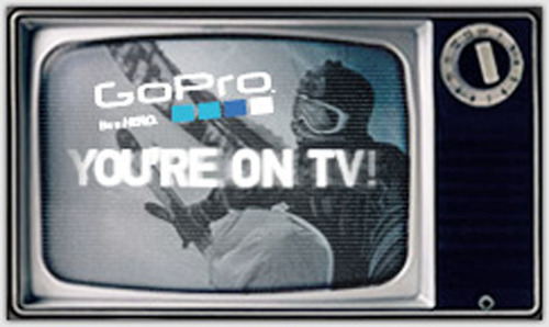 GoPro's 'You in HD' National TV Campaign Brings Consumer Generated Content to Broadcast Television