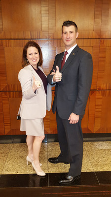 Lynne Nash and Justin Davis of Texas A&M University School of Law are the National Champions for the 2015-2016 National Representation in Mediation Competition.