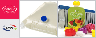 IPN and Scholle Packaging Exhibit Flexible Packaging Innovations at Interpack 2014 (PRNewsFoto/Scholle Packaging)