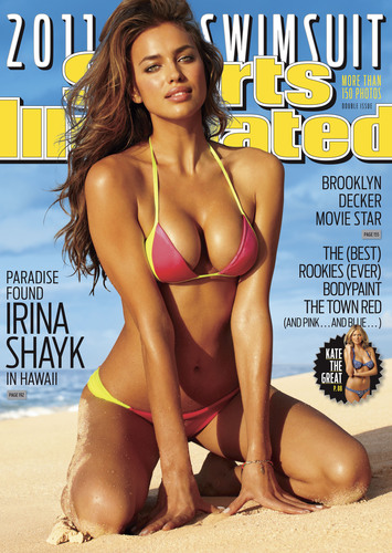 Irina Shayk: 2011 Sports Illustrated Swimsuit Cover Model, On Newsstands 2/15 (Credit: Bjorn Iooss/Sports Illustrated).  (PRNewsFoto/Sports Illustrated, Bjorn Iooss/Sports Illustrated)