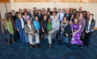 Representatives of the Coastal Georgia nonprofit organizations participating in the Georgia Center for Nonprofits' Momentum Summit.  (PRNewsFoto/Georgia Center for Nonprofits)