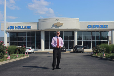 Joe Holland Chevrolet, a family owned, faith-based West Virginia car dealership challenges federal government's abortion pill mandate.  (PRNewsFoto/Liberty Institute)