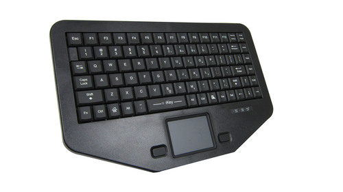 New iKey® Compact Rugged Keyboard Is Ideal For Public Safety Market