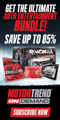 Save up to 85% with the ultimate Motor Trend OnDemand auto entertainment bundle