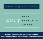 Enghouse Interactive received the Frost & Sullivan 2015 North American Contact Centers Price/Performance Value Leadership Award.