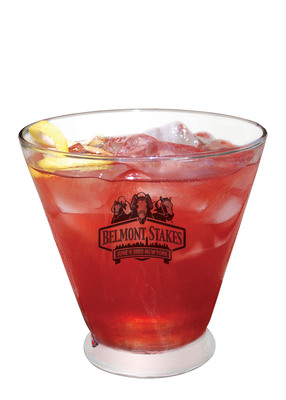 "Centerplate's signature cocktail for the Belmont Stakes, the ""Belmont Jewel"".  (PRNewsFoto/Centerplate)"