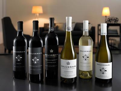 The new look of Souverain Winery. (PRNewsFoto/Souverain Winery) (PRNewsFoto/SOUVERAIN WINERY)