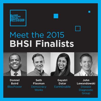 2015 BHSI Finalists