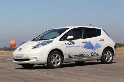 Nissan Announces Unprecedented Autonomous Drive Benchmarks.  (PRNewsFoto/Nissan Motor Company)