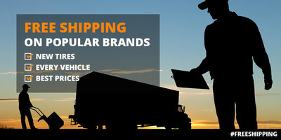 NEW TIRES. EVERY VEHICLE. BEST PRICES. Free Shipping on Popular Brands!