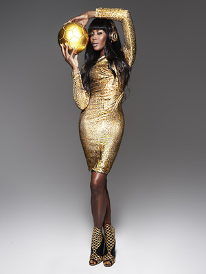 Beats by Dr. Dre: 'Golden' with Naomi Campbell shot by Rankin (PRNewsFoto/Beats Electronics LLC)