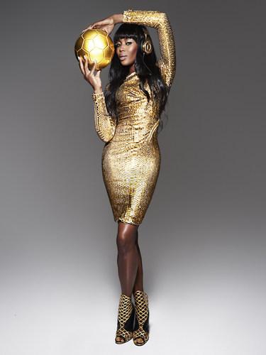 Beats by Dr. Dre: 'Golden' with Naomi Campbell shot by Rankin (PRNewsFoto/Beats Electronics LLC)
