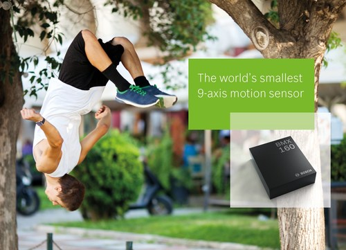 The world's smallest 9-axis motion sensor The new BMX160 from Bosch Sensortec is ideally suited for a wide ...