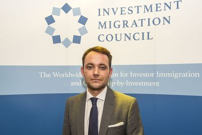 Bruno L'ecuyer, Chief Executive Officer of the Investment Migration Council (PRNewsFoto/IMC)
