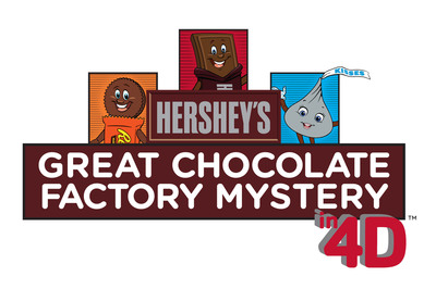 HERSHEY'S GREAT CHOCOLATE FACTORY MYSTERY IN 4D Show Logo.