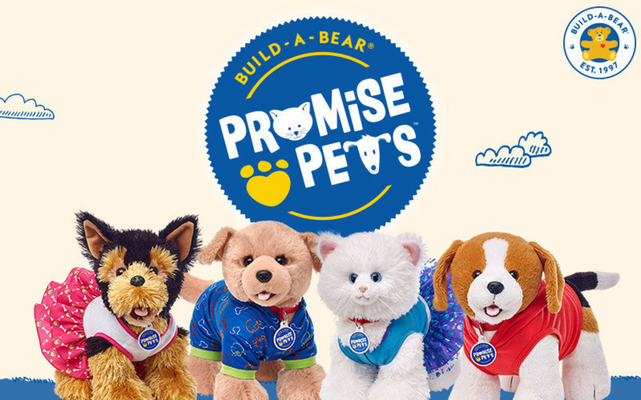 d2993c9ad22 Build-A-Bear has launched its newest product line - Promise Pets - the