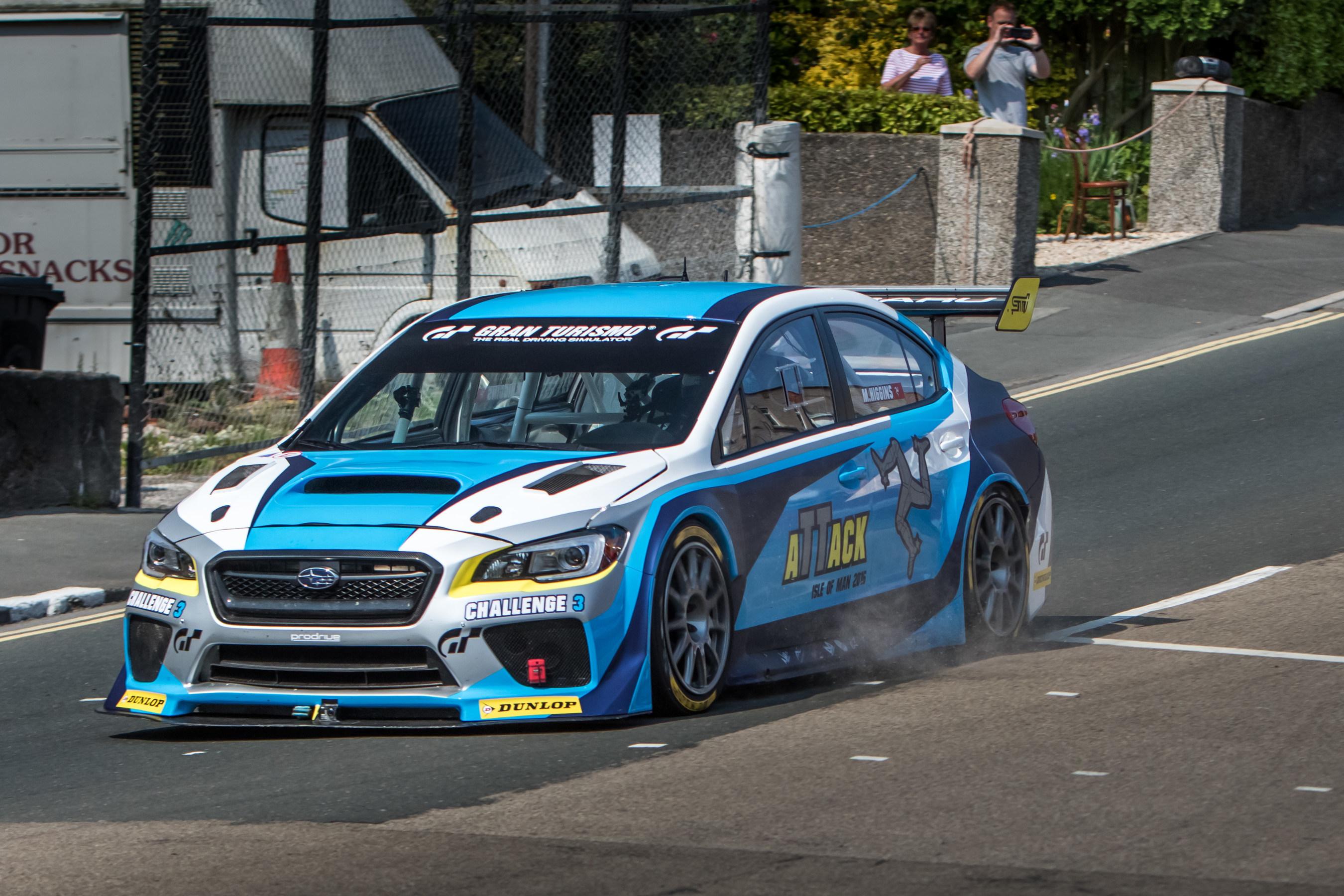 2016 Subaru Wrx Sti Isle Of Man Tt Time Car Shatters Lap Record