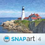 Alien Skin Software Announces Snap Art 4 - Turns Photos Into Paintings or Sketches That Look Handmade. (PRNewsFoto/Alien Skin Software)