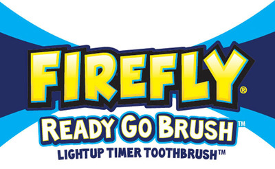 FireFly Ready Go Brush logo.  (PRNewsFoto/Dr. Fresh LLC)