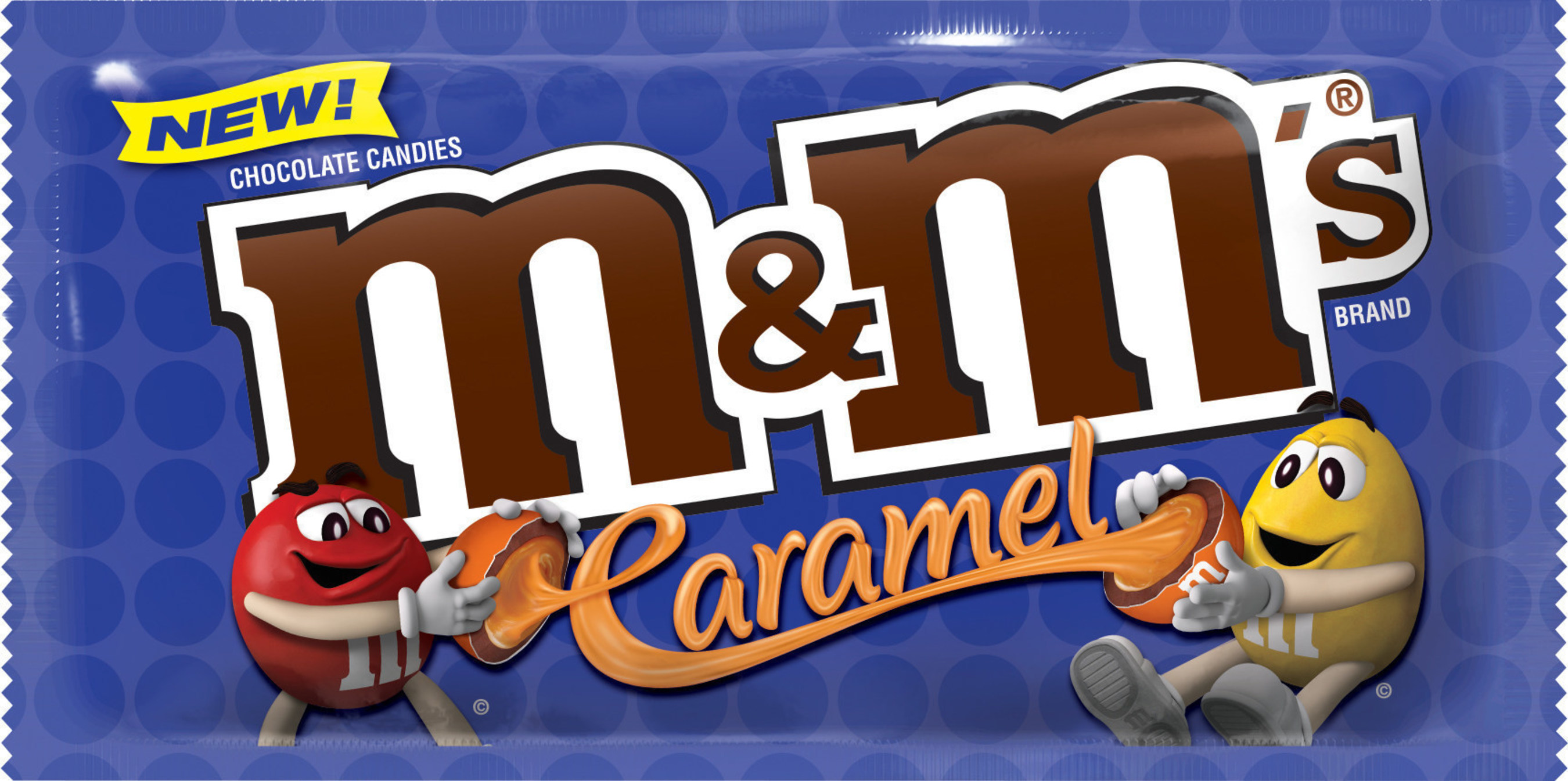 M&M'S(R) Caramel Chocolate Candies are part of an industry-leading lineup of new products that will hit store shelves in the coming months, according to Mars Chocolate North America and Wrigley. The biggest launch in M&M'S(R) Brand history, this innovative treat features a creamy caramel center covered in delicious milk chocolate, enclosed in a colorful candy shell.