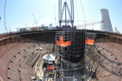 The 64,000-pound CA04 module was placed into the Vogtle Unit 4 nuclear island on Wednesday, June 17 by one of the largest cranes in the world.