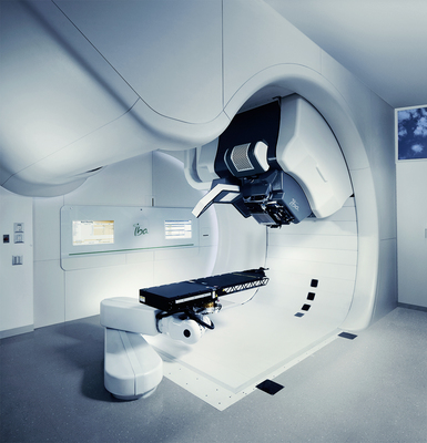 Toshiba Medical Systems Corporation will become the distributor in Japan for Proteus(R)ONE, IBAâeuro(TM)s compact single-room proton therapy solution, and IBA will become the agent for Toshibaâeuro(TM)s Carbon Therapy Solutions outside Japan. (PRNewsFoto/IBA Proton Therapy and Toshiba)