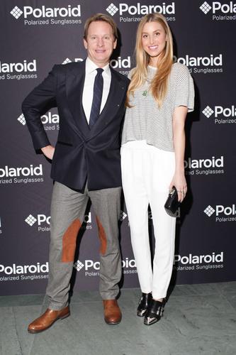 Whitney Port and Carson Kressley at the Polaroid Eyewear party.  (PRNewsFoto/Polaroid Eyewear)