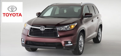 The 2015 Toyota Highlander comes with massive amounts of storage space, while also providing a comfortable driving experience and impressive fuel economy. (PRNewsFoto/Toyota of River Oaks)
