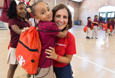Save the Children recommends all families complete three basic prep steps this National Preparedness Month, including packing a go-bag for each child. Credit: Save the Children