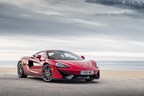 The McLaren 570S Coupe. Ally and McLaren announced a financing relationship in January 2016.