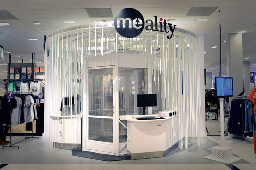 Bloomingdale's and Me-Ality Partner to Unveil an Enhanced Denim Shopping Experience with Me-Ality Sizing Stations.  (PRNewsFoto/Me-Ality)