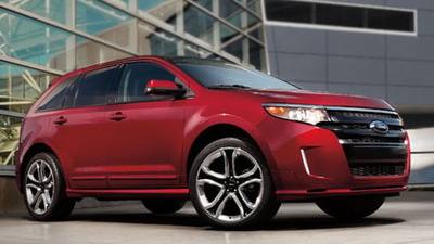 Compare the 2013 Ford Edge vs 2013 Nissan Murano today! (PRNewsFoto/Osseo Automotive)
