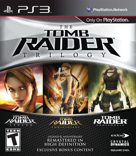 THE TOMB RAIDER TRILOGY PACK AVAILABLE TODAY.  (PRNewsFoto/Square Enix Co., Ltd.)
