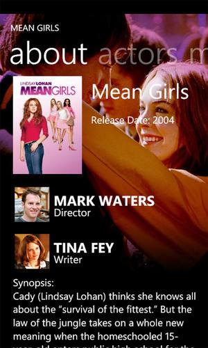 Paramount Digital Entertainment Announces Ten New Silverlight Enhanced Movies for Windows Phone 7
