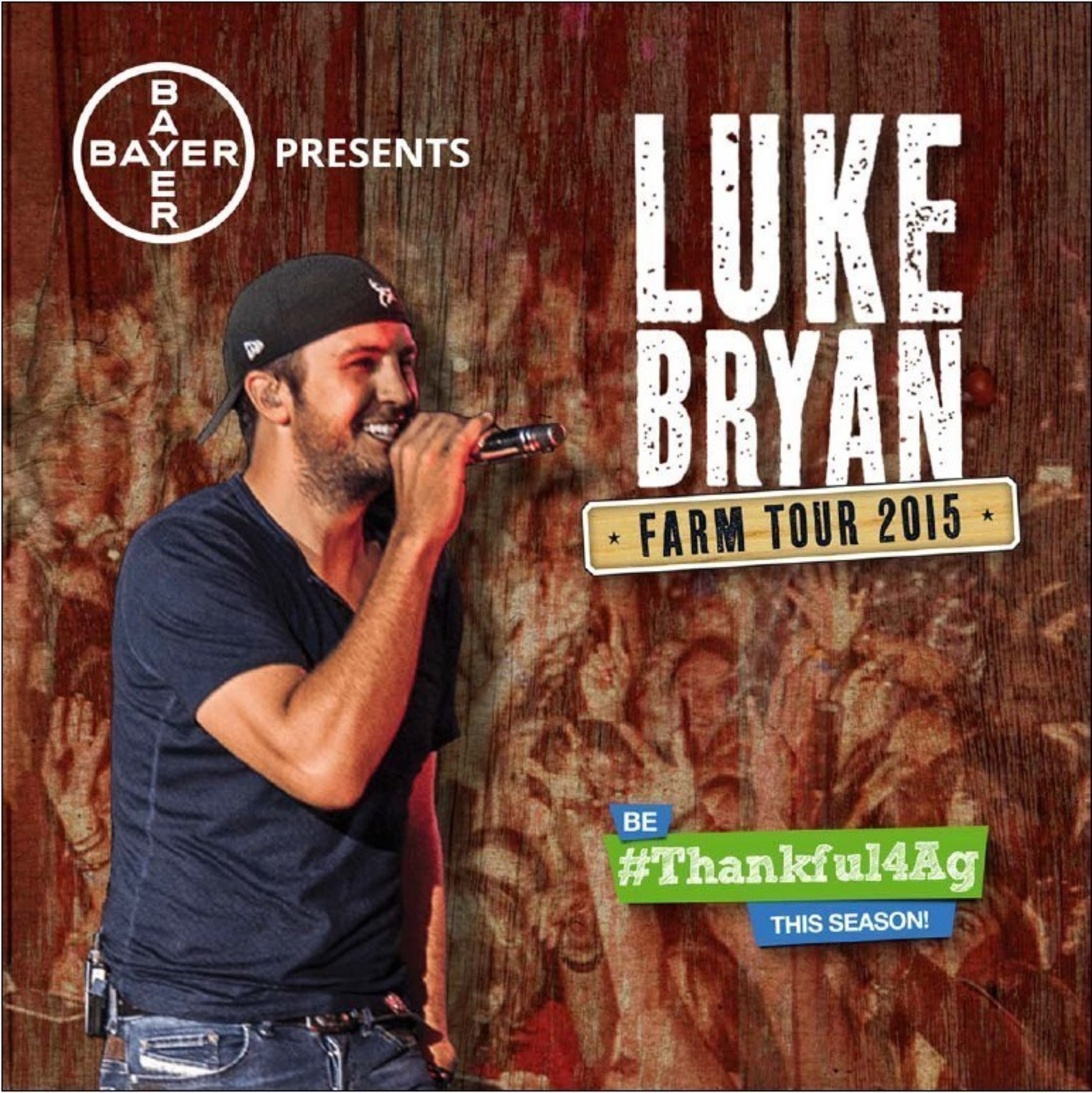 Bayer Congratulates Luke Bryan on His AMA Favorite Country Male Artist of the Year Award.