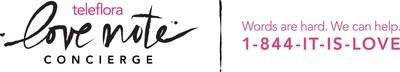 The Teleflora Love Note Concierge logo. Photo courtesy of Teleflora.