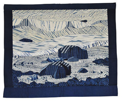 Time is as Weak as Water by Carol Anne Grotrian (PRNewsFoto/National Quilt Museum)