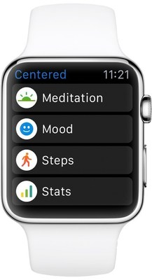 Centered for Apple Watch Screenshot