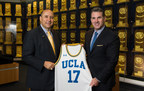 Under Armour Founder and CEO Kevin Plank joins UCLA Director of Athletics, Dan Guerrero, to announce a 15-Year Exclusive Performance Footwear and Apparel Deal