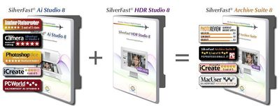SilverFast Archive Suite 8 Awards (PRNewsFoto/LaserSoft Imaging AG)