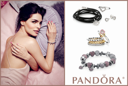 Charm Her this Valentine's Day with the Perfect Gift from PANDORA.  (PRNewsFoto/PANDORA Jewelry)