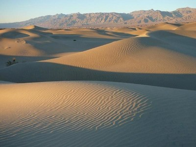 The Mesquite Flat San Dunes (pictured) was just one of the breathtakingly and picturesque locations throughout Death Valley National Park - including Dante's View, Desolations Canyon, Artist's Drive and Golden Canyon - used during the film's shooting. All are just a quick 20- to 40-minute drive from Furnace Creek Resort. Photo courtesy of the National Park Service.