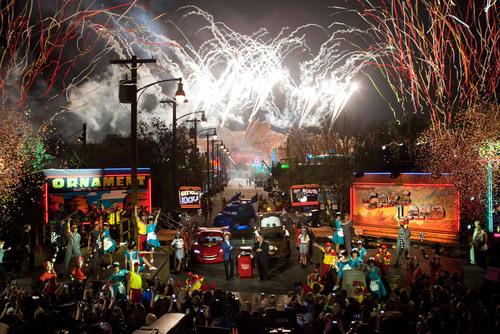 Cars Land Celebrates Premiere at Disney California Adventure Park, Bringing Radiator Springs to
