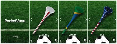 Pocket Vuvuzela.  (PRNewsFoto/Pereira & O'Dell)