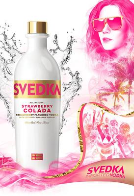 SVEDKA Vodka Charges Into Summer 2013 With Bold Campaign.  (PRNewsFoto/SVEDKA Vodka)